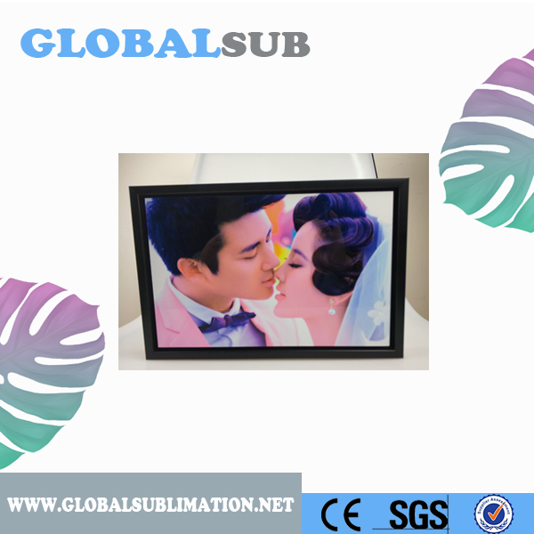 Plastic Black Sublimation Photo Frame