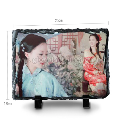 Sublimation Photo Slate -Rectangular Stone-small