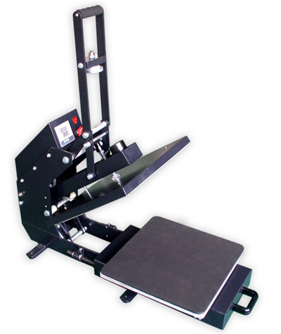 slide-out Magnetic auto open heat press machine