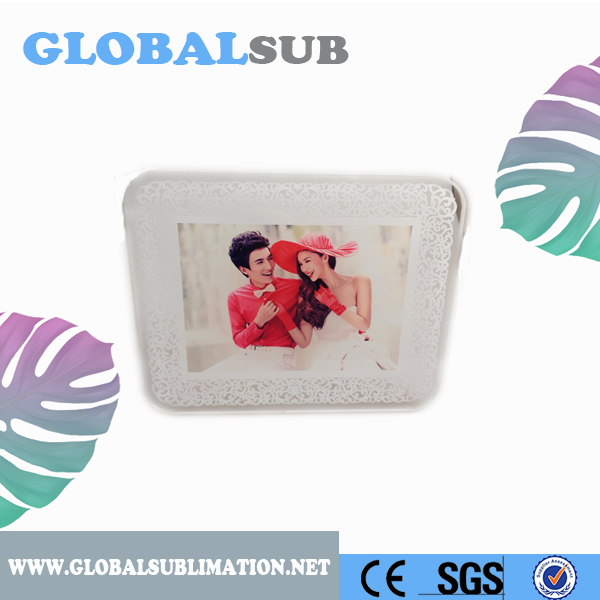 New Arrvial Tempered Glass Photo Frame