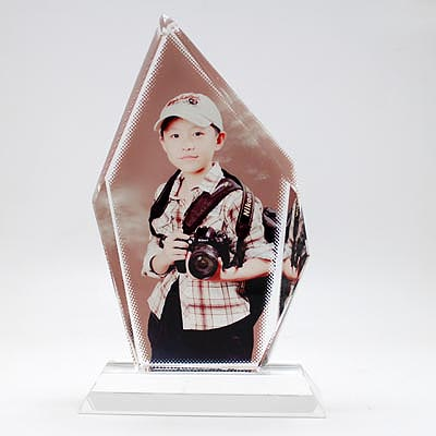 sublimation Iceberg Crystal Photo Frames