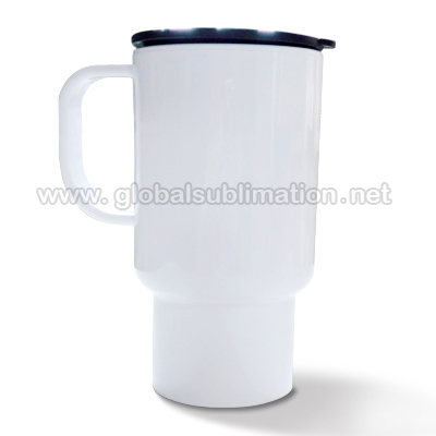Sublimation custom printed Polymer Travel Mug