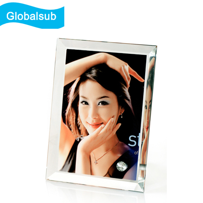Different specifications sublimation blank glass picture frame photo frame