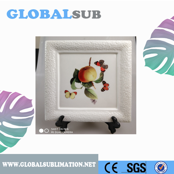 Best Price Sublimation Square Shape Arc Photo Plate