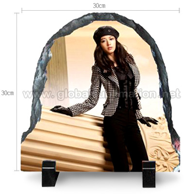 Photo Slate -Door shaped stone- Large
