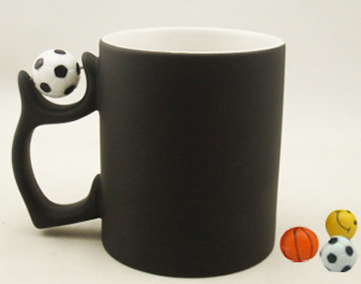 11oz color change mug with football,basktball, smi