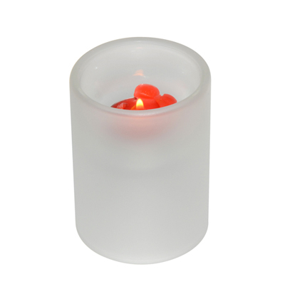 Promotional Sublimation Glass Candle Holder Wedding Favors