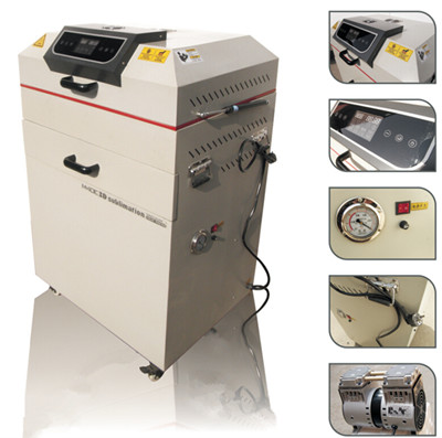 New 3D Vacuum heat press machine