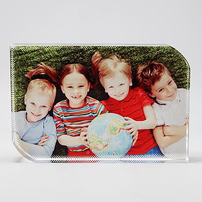 Sublimation Smooth Angle Square Crystal Photo Frames