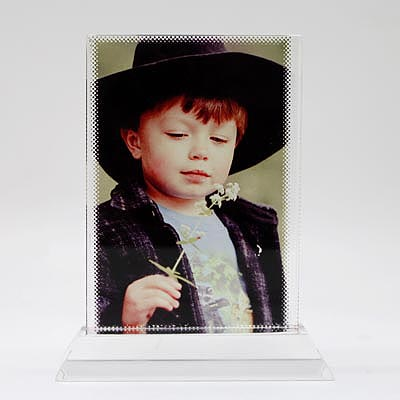 Sublimation T-screen Erect Crystal Photo Frames