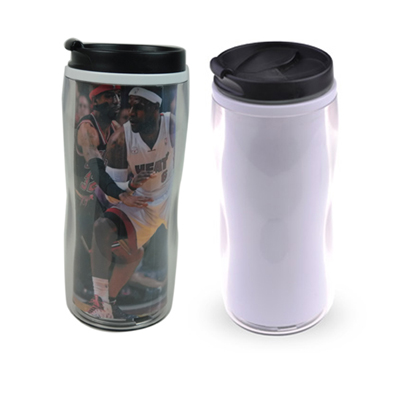 Sublimation Polymer double wall straight mug