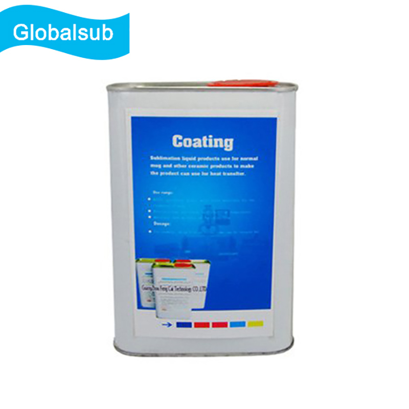 Clear Bulk Sublimation Coating for Hard Surface Materials