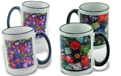 Colour Rim Mug