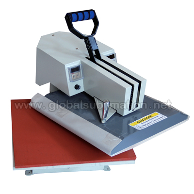 Swing-away heat press machine