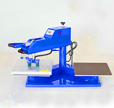 Air double location heat press machine