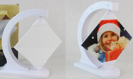 Elegant Polymer Revolving Ceramic Photo Frame