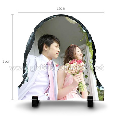 Sublimation Photo Slate -Door shaped stone- Small