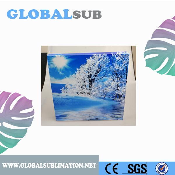 New Arrival Sublimation Aluminium Sheet Photo Frame