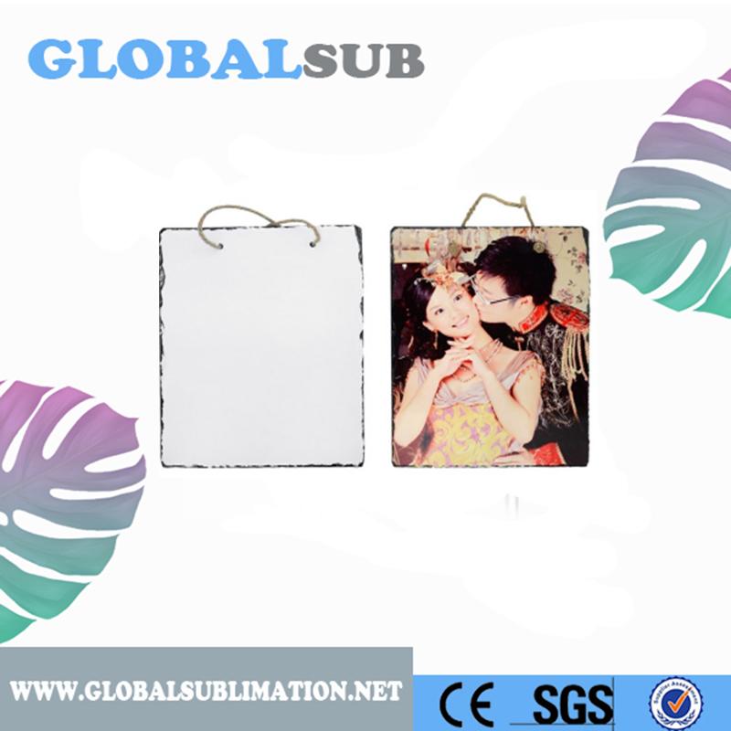 Blank White Sublimation Stone Rock Coaster