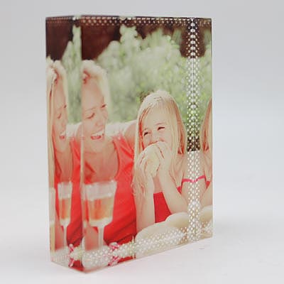 Sublimation Small Square Crystal Photo Frames