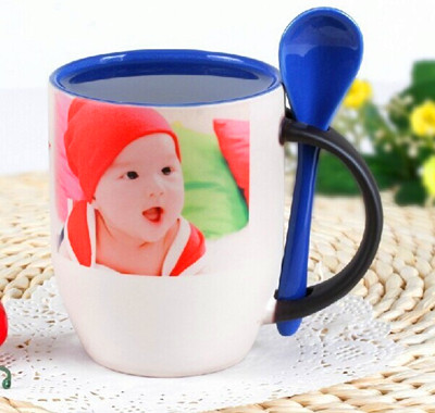 11oz Sublimation Color Changing Spoon Mug