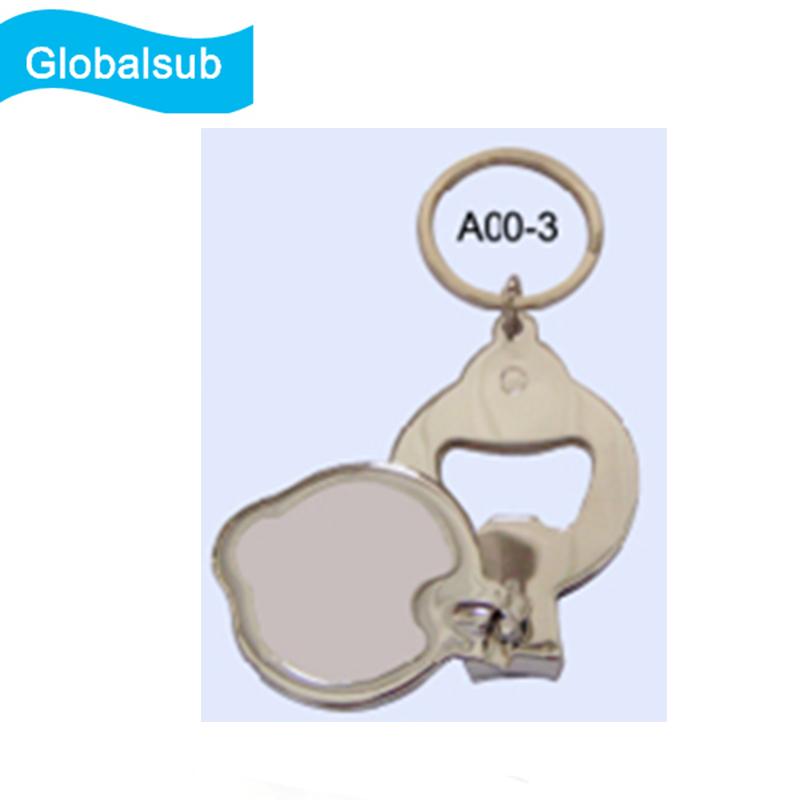Multi-functional Key Ring Opener & Nail Cutter