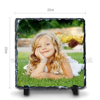 Sublimation Photo Slate- large square