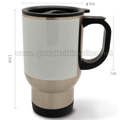 Sublimation custom printed Travel stainless steel  Mug