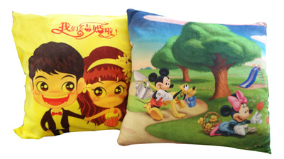 Sublimation Velvet  customize printed Chair Pillow