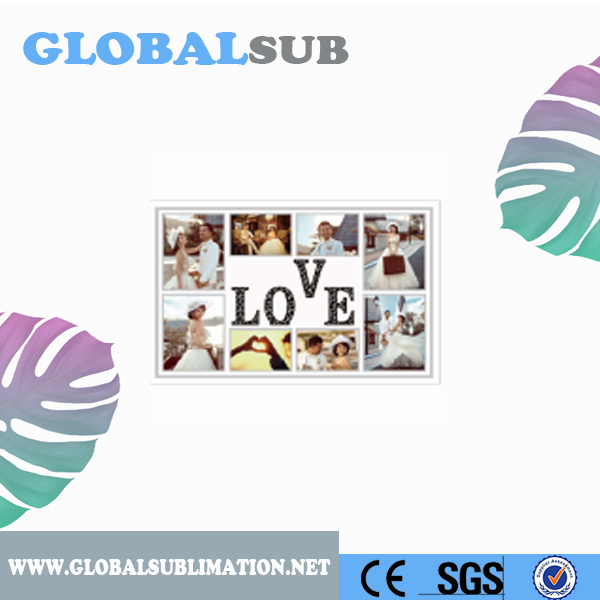 New Famaliy Wedding Gift Sublimation Stalinite Photo Frame
