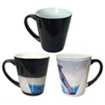 Cone colour changing mug