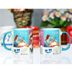 Color Rim Mug (Blue 2)