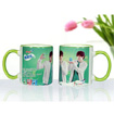 Color Rim Mug (Green 1)