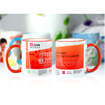 Color Rim Mug (Red 2)