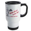 14oz Stainless Steel Mug (Full White)