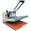 High Voltage flat clamshell press