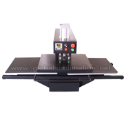 Air double location heat press