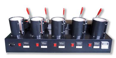 Mug Press Machine(5-in-1)