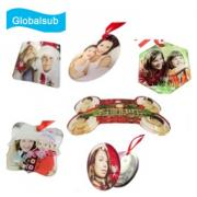 Custom Personalized Acrylic Ornaments Heat Transfer Printing