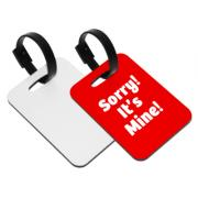 Personalized Bag Accessories Sublimation Hardboard Luggage Tag