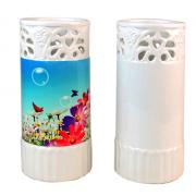 Personalized promotional Sublimation ceramic vase