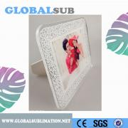 Fashionable Coated Tempered Glass Material Photo Frame