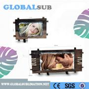 Personalized gifts&decoration-Sublimation Rectangle Photo Slate with Frame
