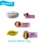 Acrylic Name Badge