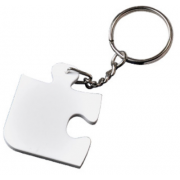 Sublimaton Polymer Puzzle Keychain For Photo Printing