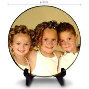 Sublimation Photo Slate -Big Circle