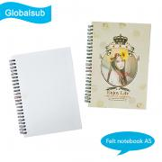 Sublimation Felt Notebook A5 with Blank