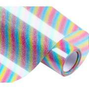 Glitter Metallic Reflective PU PVC Flock Rainbow Heat Transfer Vinyl Sheets Film <img src=templates/utf-8/no1/images/new.gif border=0>