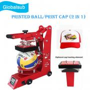 2 In 1 Heat Press Machine For Ball and Cap Printing