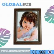Printable sublimation plastic photo frame (size:180*130*35 mm)